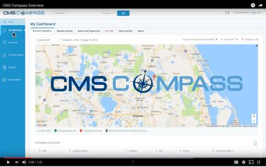 CMS Compass web interface screenshot